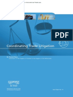 Coordinating Trade Litigation