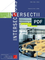 Revista Intersect no_1 din 2006