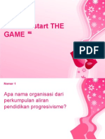 Let's we start THE GAME 