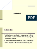  Attitudes Are Evaluative Statements – Either
