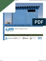 Construcción Baños Ecológicos Secos
