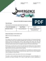 Crack Analysis of Enclosure Under Bursting Pressure