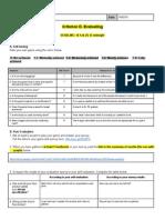 criteriond evaluation
