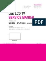 47LW6500 service manual