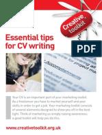 Creative Toolkit Cv Writing a4