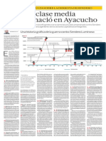 La Nueva Clase Media Peruana Nacio en Ayacucho. Por Hernando de Soto