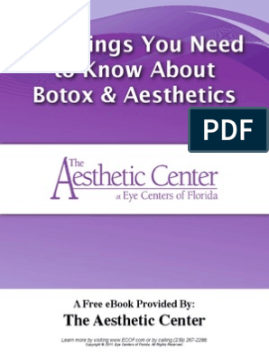 Botox eBook | Botulinum Toxin | Hair Removal