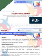 Taller Introductorio 2014