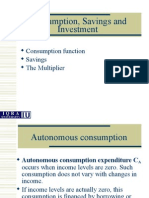 Lec-12B - Revison- Consumption Savings and Investment.ppt