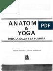 Anatomia Y Yoga