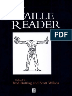 Georges Bataille Fred Botting and Scott Wilson Editors the Bataille Reader Blackwell Readers 1997