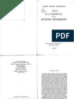 Whitehead, A.N.,La Ciencia y El Mundo Moderno