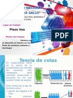 Teoría de Colas-Plaza Vea
