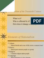 nationalism of the twentieth century