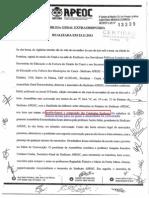 Reforma Fantasma Estatuto APEOC Com Esclarecimentos Da Oposição