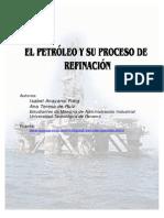 El Petróleo y Su Proceso de Refinación