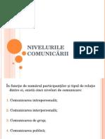 3. Nivelurile comunicării.ppt