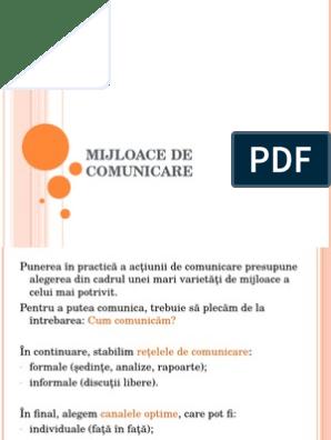 tehnici de comunicare ppt