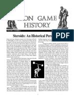 IRON GAME - History