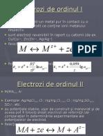 Electrochimie Si Coroziune - Electrozi de Ordinul I