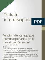 Trabajo Interdisciplinario