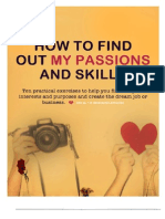 eBook How to find your passion and skills.eBook Preview