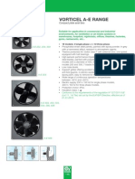 Fan Noise - Range Technical 160 ERP Vorticel a-E Range