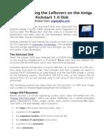 Reconstructing The Kickstart Disk