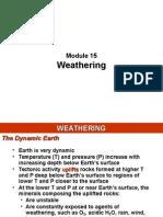 Module 15 - Weathering