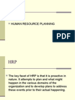  Human Resource Planning