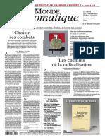 Le Monde Diplomatique - Février 2015