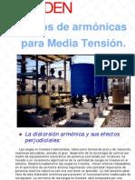 Filtros de Armonicas Media Tension