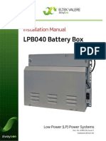 LPB040 Installation Guide (B - 2040139 - 1 - 5) - 1