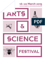 Arts and Science Festival 2015 | e-brochure