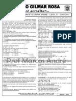 Espcex - Lista 17 Eletroquímica 1