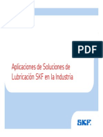 Sistemas Centralizados de Lubricación SKF - 2011