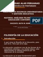 filosofiadelaeducacin-110507130800-phpapp02