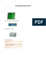 Brauduino Parts List