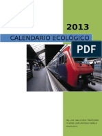 CALENDARIO ECOLOGICO