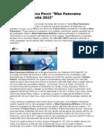 BIT 2015 Franco Pecci Blue Panorama Presenta Le Novità 2015