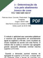 Concreto Determinac3a7c3a3o Da Consistc3aancia