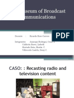 CASO GRUPAL 3 the Museum of Broadcast Comunications