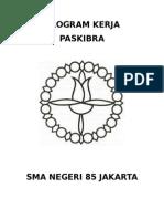 Program Kerja Paskibra