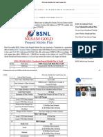 BSNL Nesam Gold Mobile Plan _ Prepaid Recharge Online