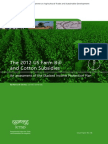The 2012 US Farm Bill and Cotton Subsidies