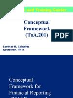 ToA.201 Conceptual Framework