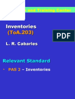 ToA.203 Inventories