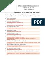 TD 2 - XPath Et XQuery - Corrigé