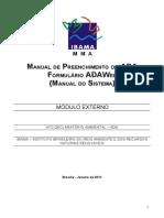 Ato Declaratório Ambiental (Ada) - Relatório Do Protocolo de Montreal