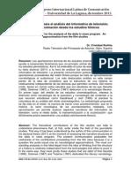 Metolologias Para El Analisis Del Informativo de Television-libre